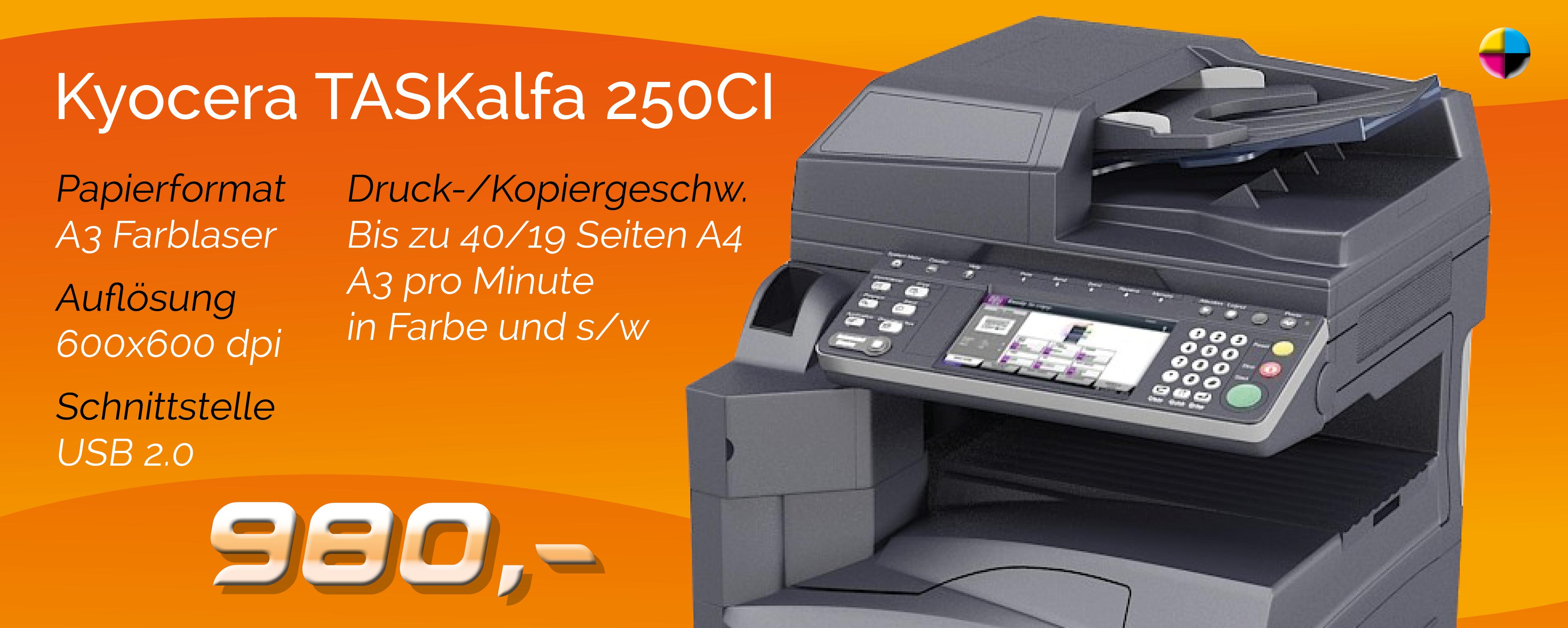 Angebot Kyocera TASKalfa 250ci