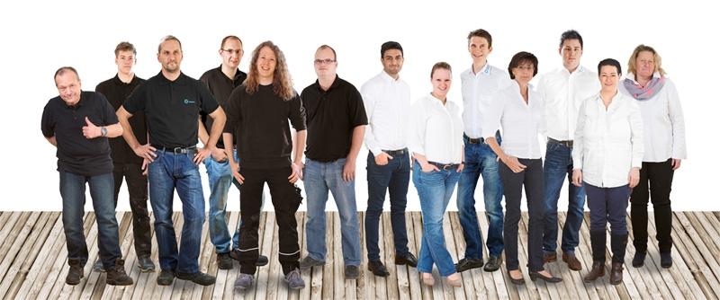 Das Team von Büroservice Hübner und Druckerhaus24